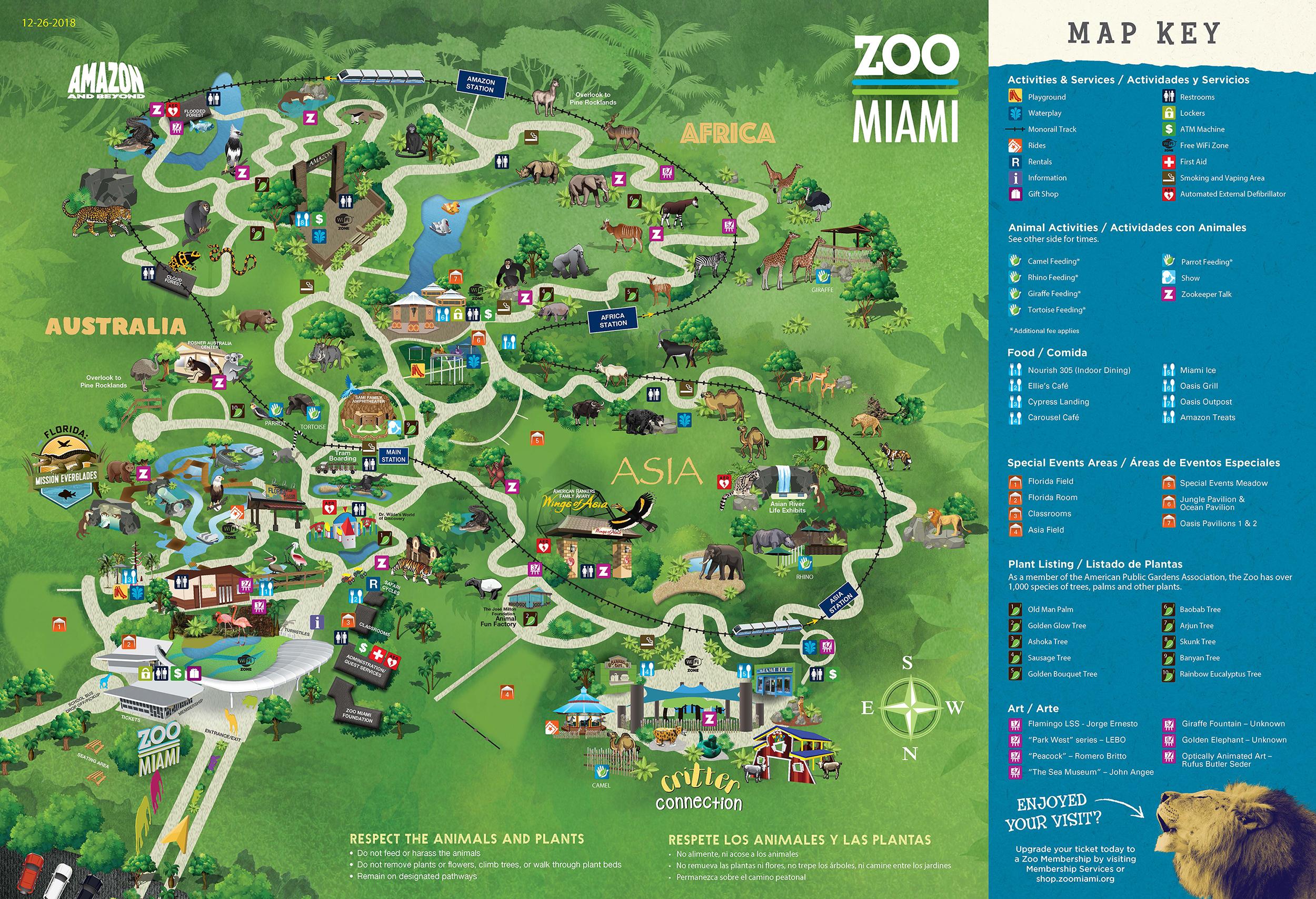 Zoo Map Zoo Maps on
