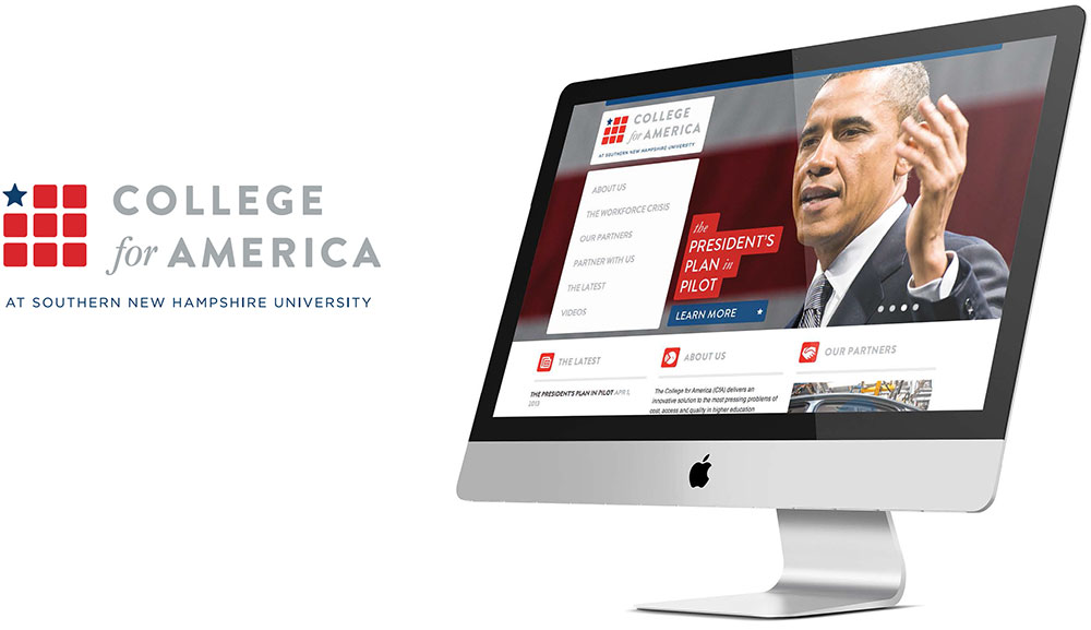 College for America Website