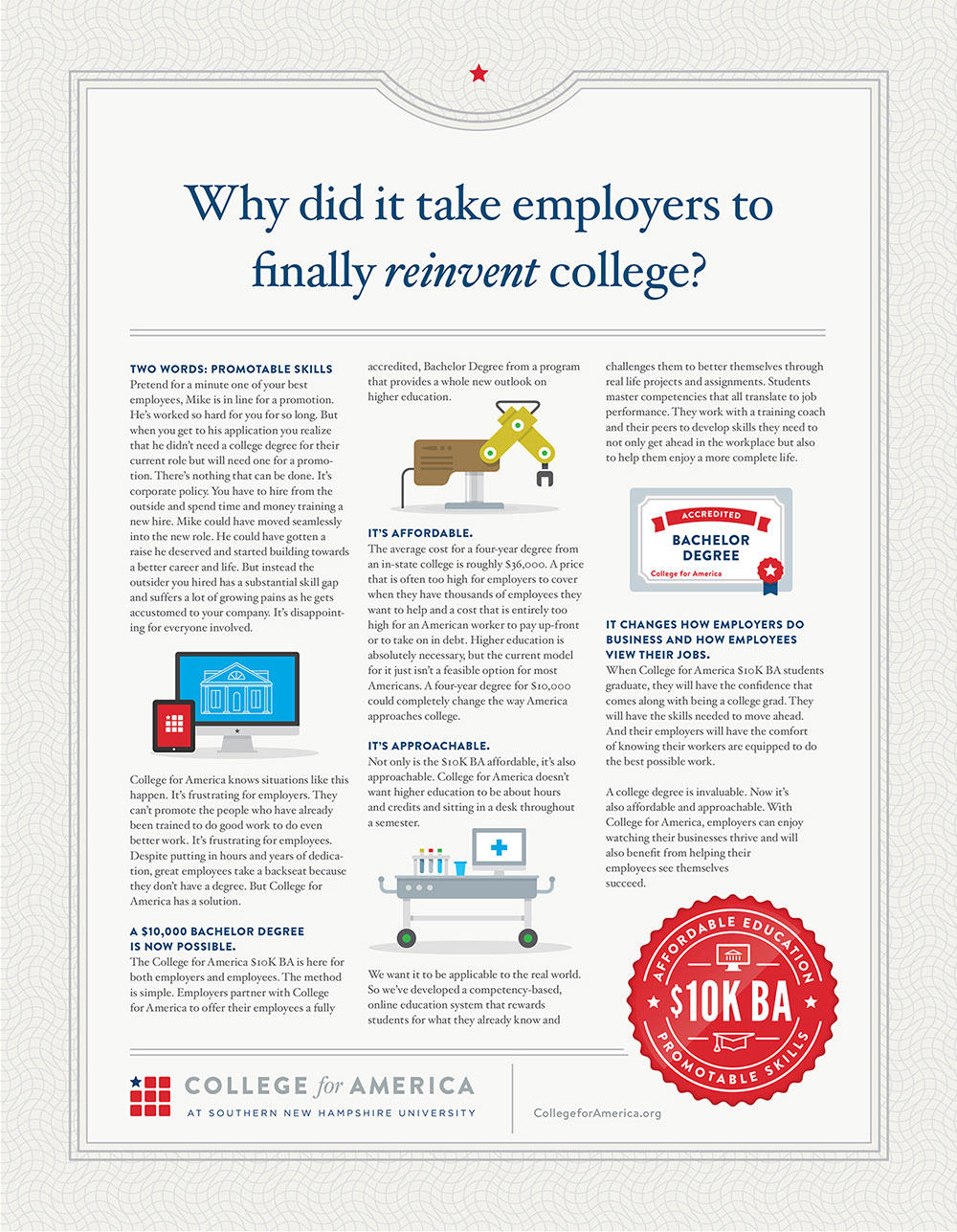 College of America - Why did it take employers to finally reinvent college?