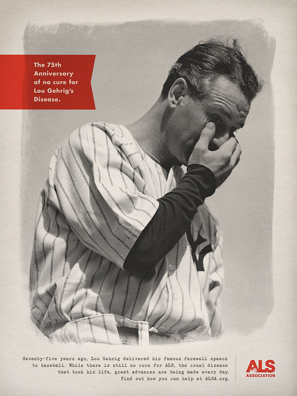 The 75th Anniversary of no cure for Lou Gehrig's Disease