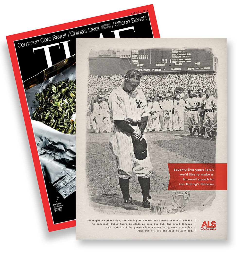 Lou Gehrig in Time