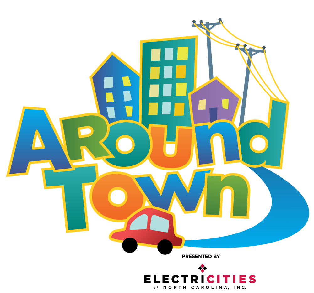 Around Town logo Electricities sponsorship