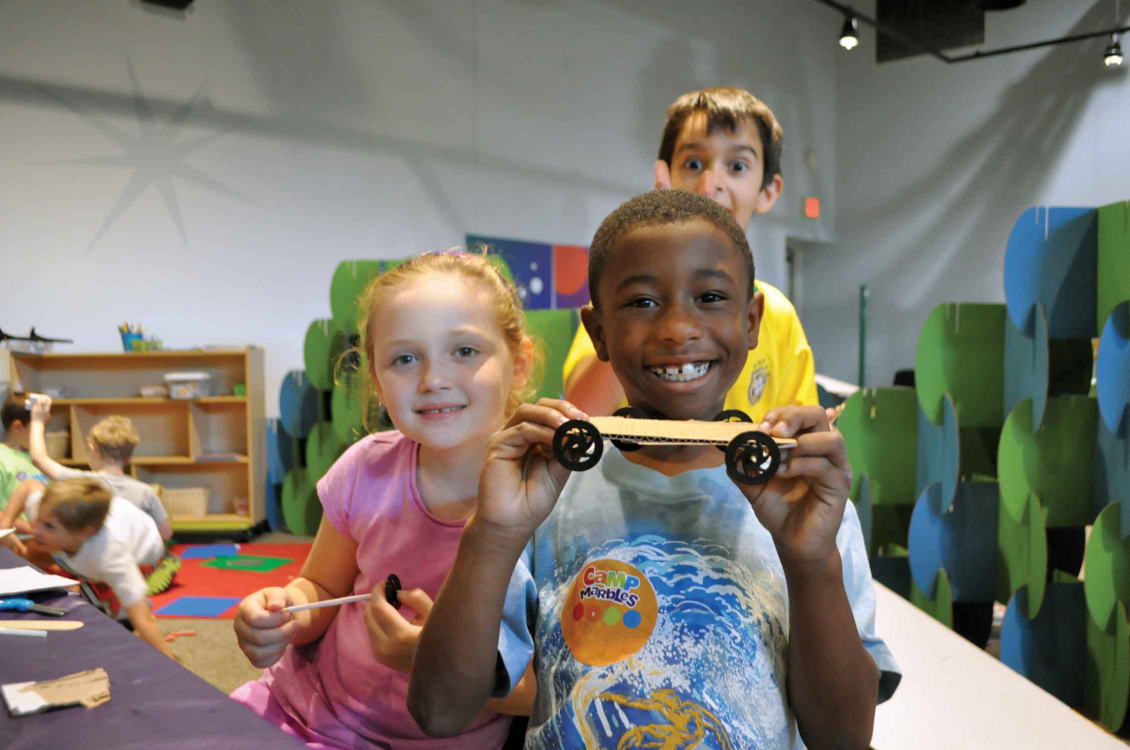 School's Out Camps - Marbles Kids Museum