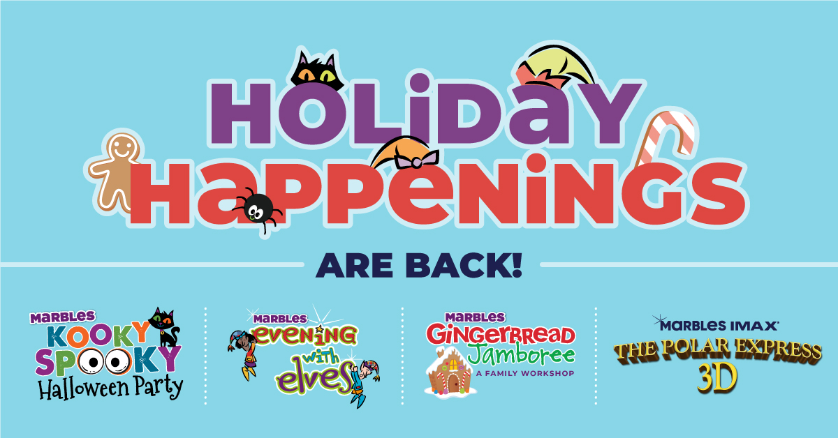 Holiday Happenings are Back!