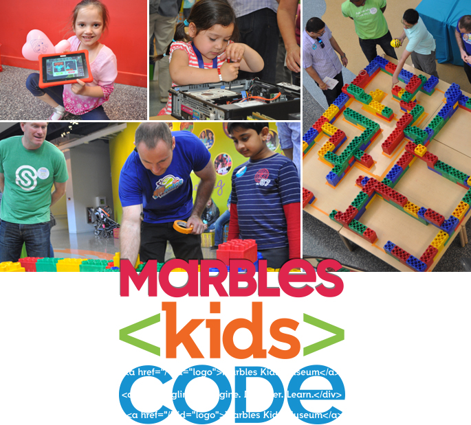 Marbles Kid Code Logo and Pictures