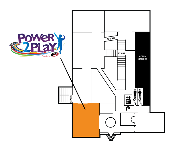 Power 2 Play Exhibit Map
