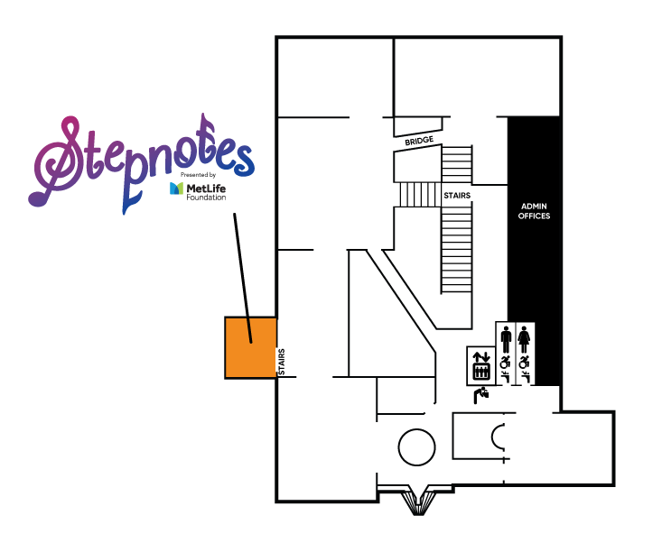 Stepnotes Exhibit Map