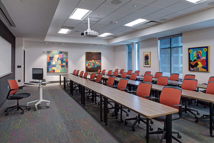 multi-functional classroom & conferencing space