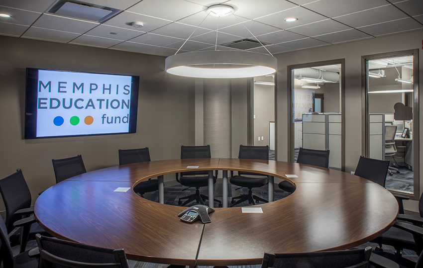 Memphis Education Fund at Crosstown Concourse Lobby