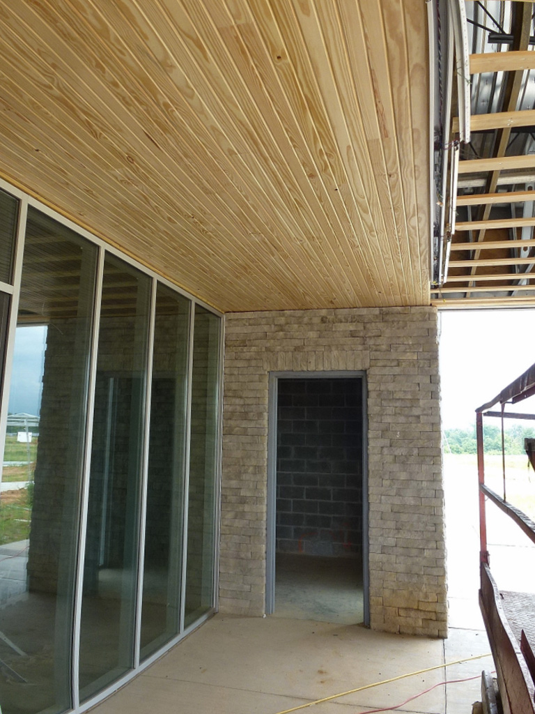 July Construction Administration - Wood Details
