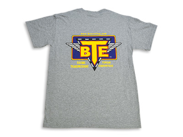 BTE Short Sleeved T-Shirt (Gray)