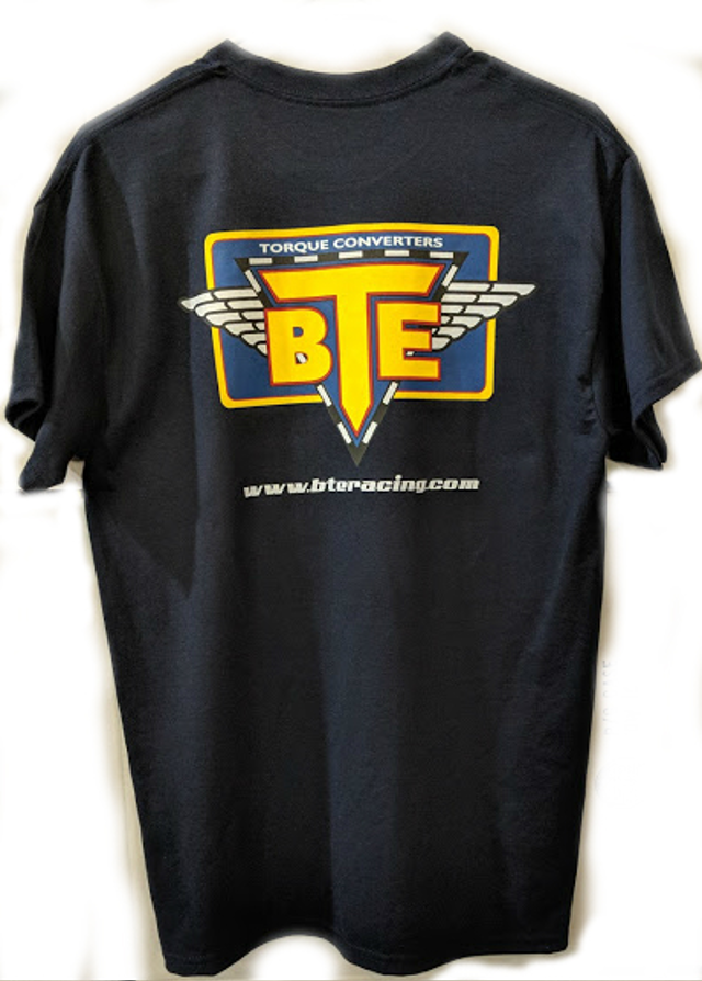 BTE Short Sleeved T-Shirt (Navy Blue)