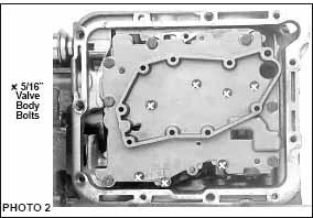 Ford C-4 Full Manual Reverse Shift Valve Body - BTE 421000