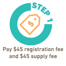 pay registration fee icon