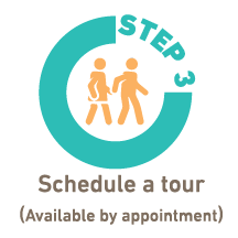 schedule a tour icon