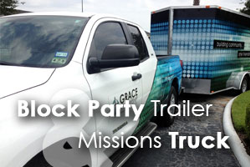 Block Party Trailer Missions Truck