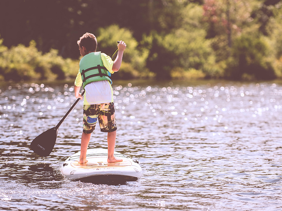 Paddle boarding - SUP in Aspen, CO