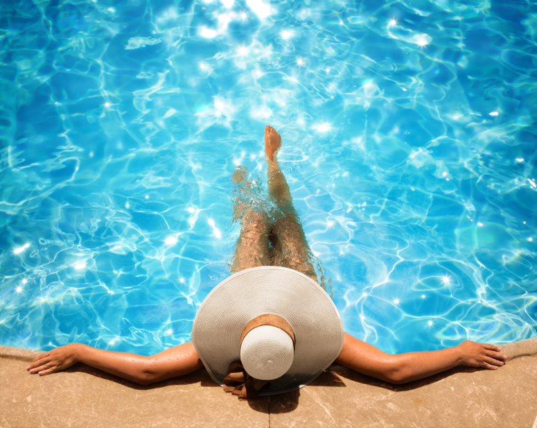Pool Woman
