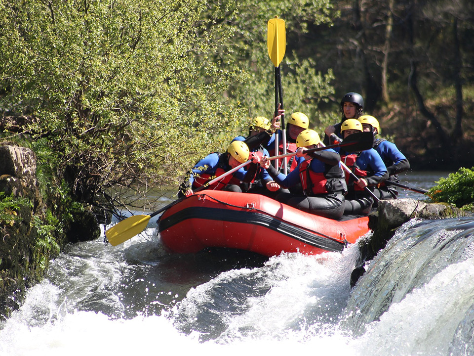 whitewater rafting in Aspen