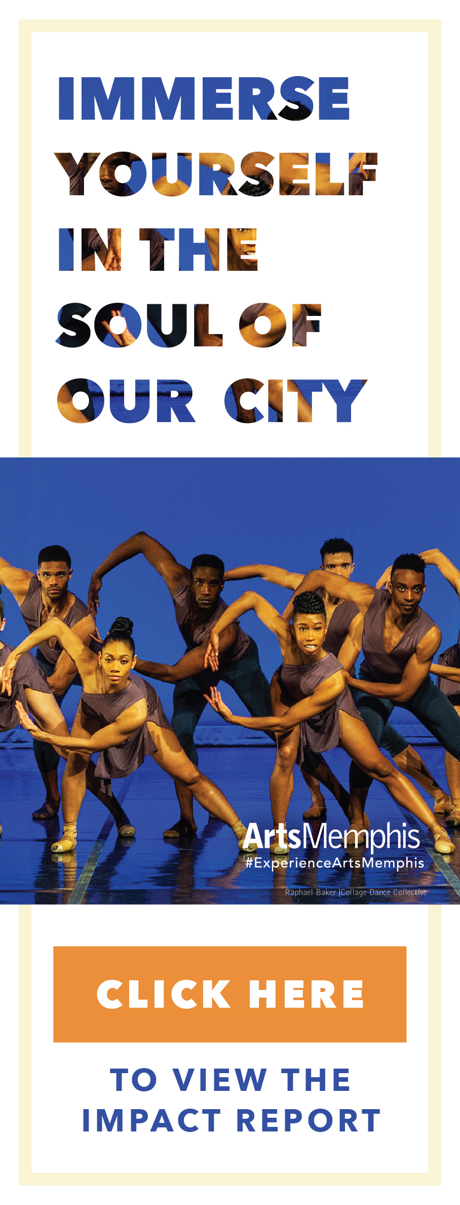 Immerse yourself into the soul of our city. Click Here to view the annual report