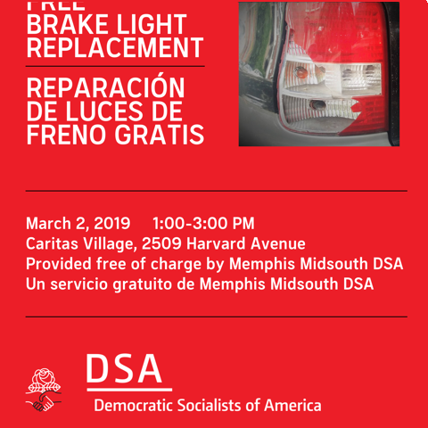 Memphis Midsouth DSA Free Brake light Clinic