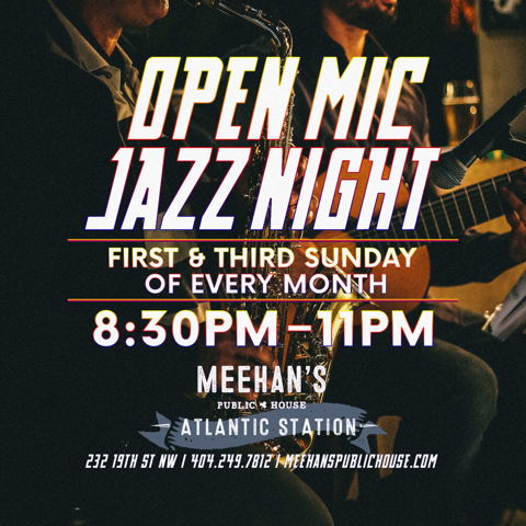 Open Mic Jazz Night at Meehan's