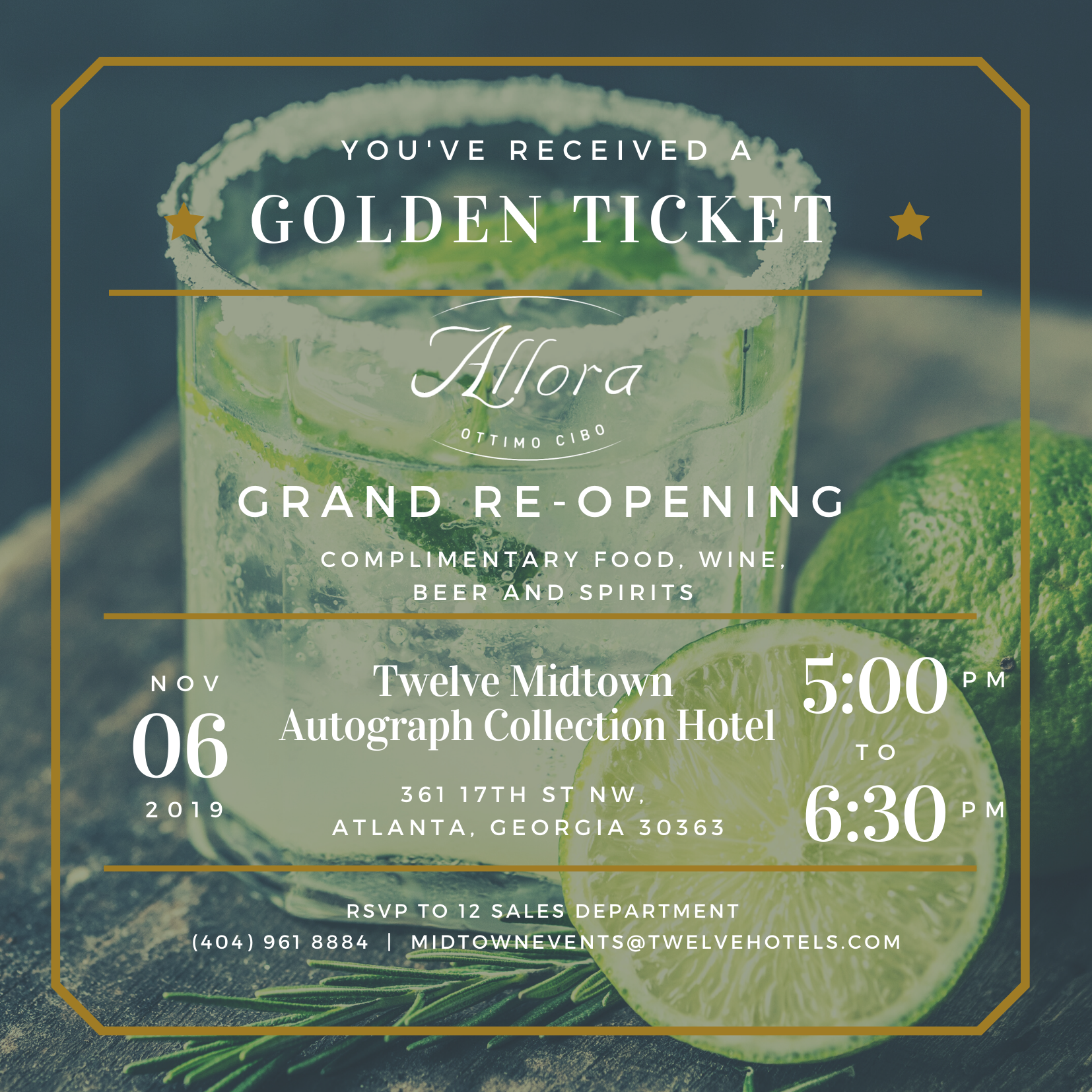 Allora Grand Re-Opening