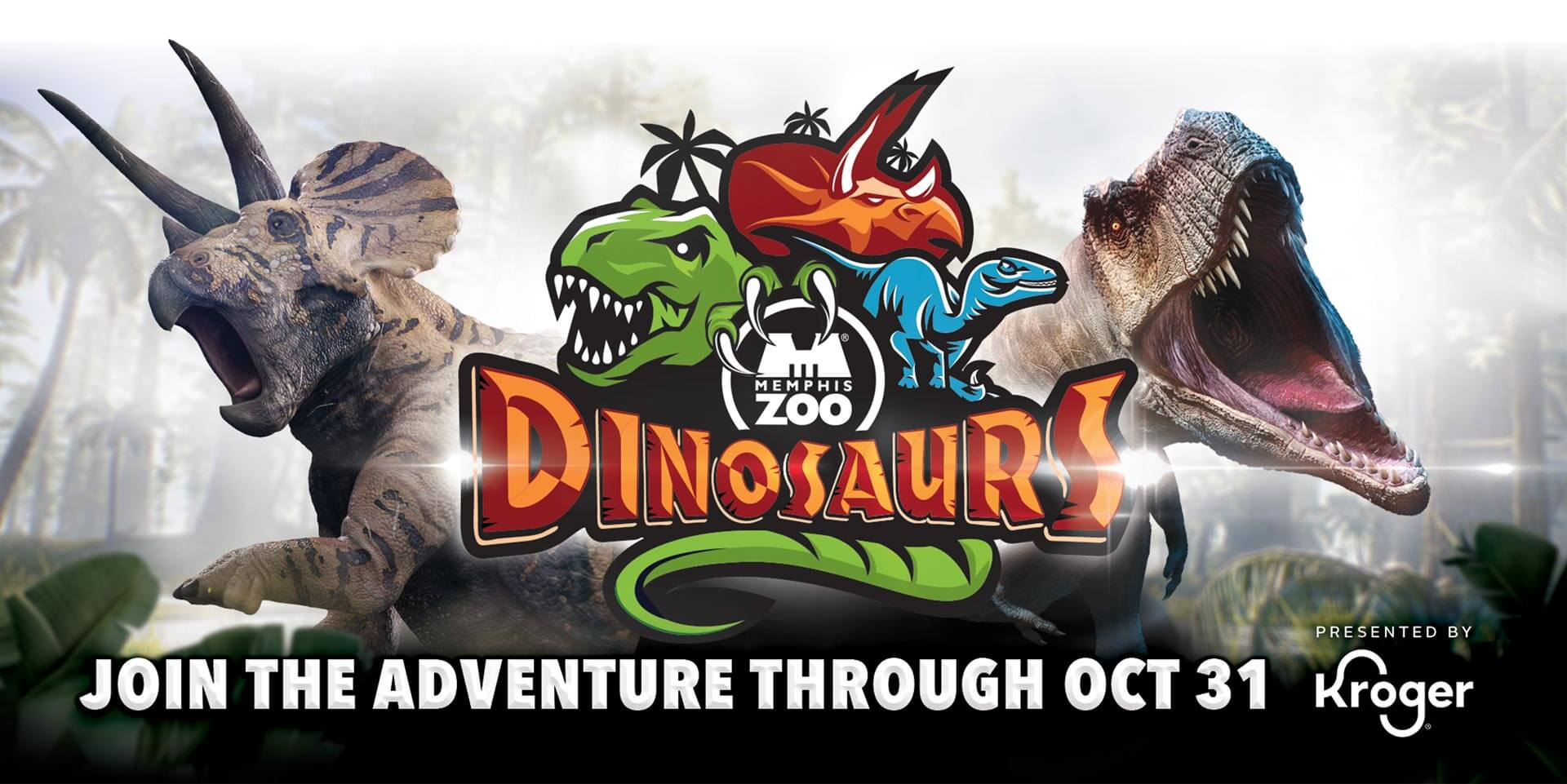 Memphis Zoo Dinosaurs: Join the adventure October 31