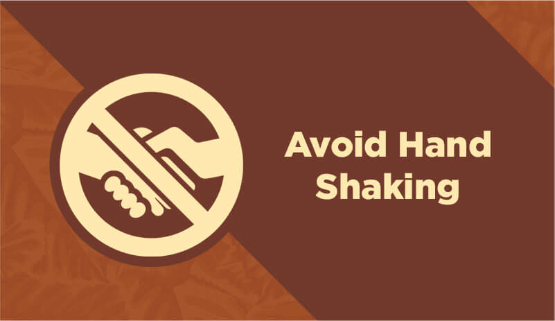 Avoid hand shaking