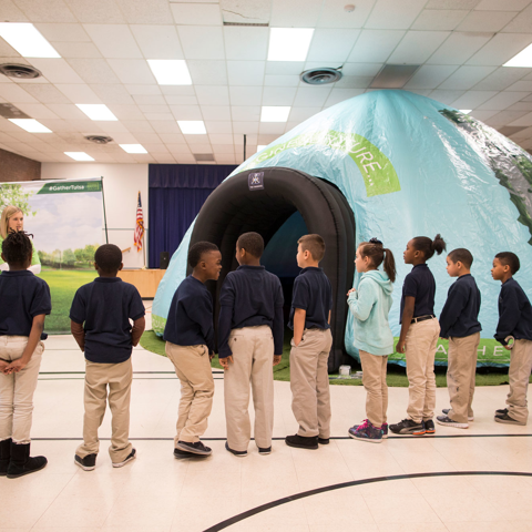 The Park Pod visits Tulsa Legacy Charter School, February 2016