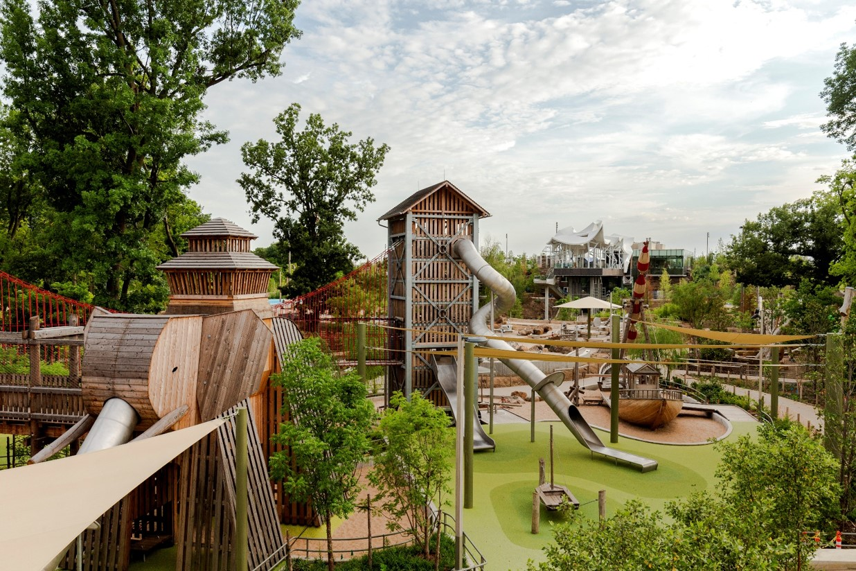 photo of adventure playground