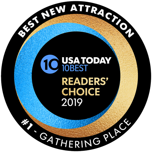 USA Today #1 Readers' Choice Best New Attraction 2019