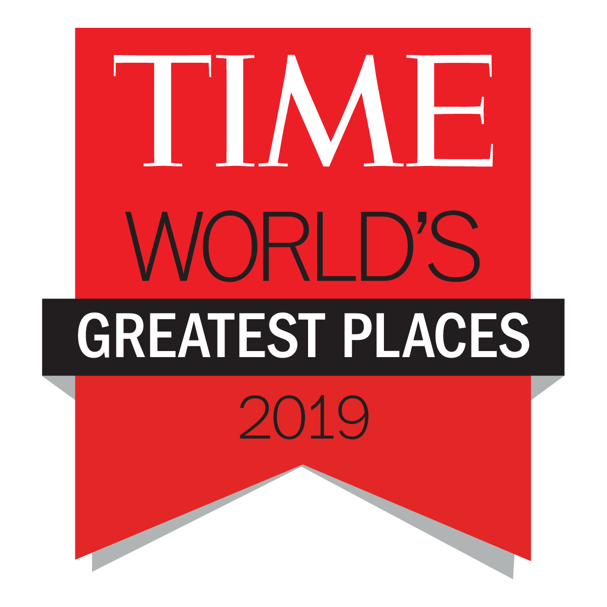 Time magazine badge