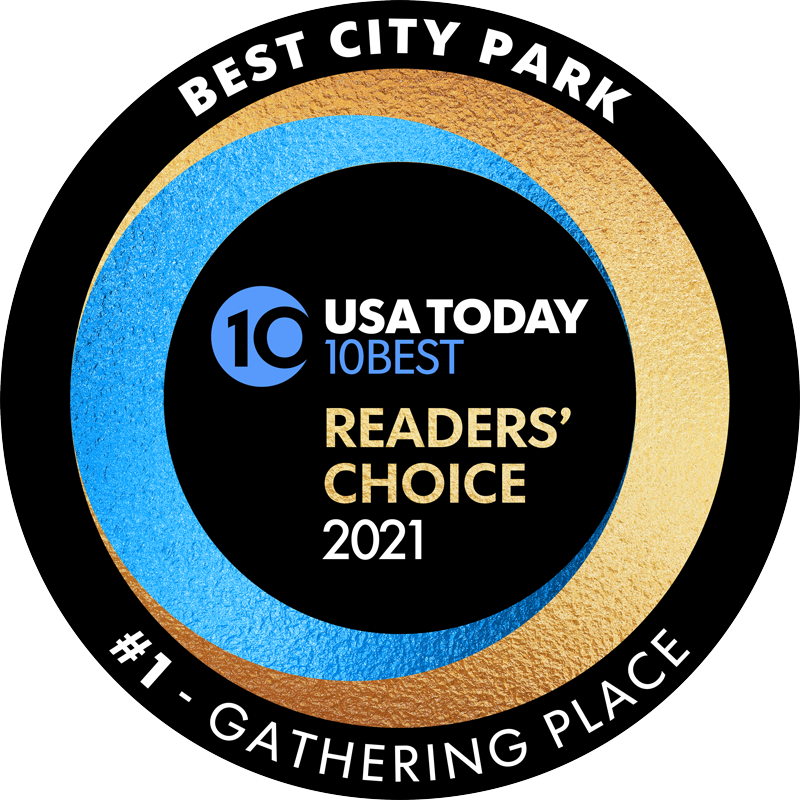USA Today #1 Readers' Choice Best City Park 2021