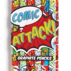 Comic Attach pencil set