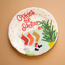 Coton Colors Cookies for Santa Plate