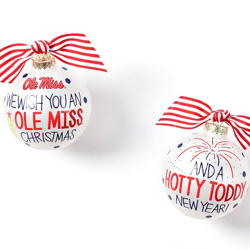 Hotty Toddy New Year Ornament
