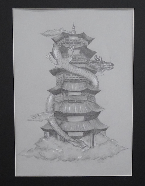 """Pagoda"" by Eva Yu"