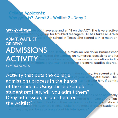 Admit-Waitlist-Deny