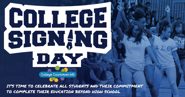 College Signing Day Banner