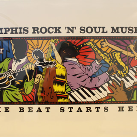"""The Beat Starts Here"" Poster"