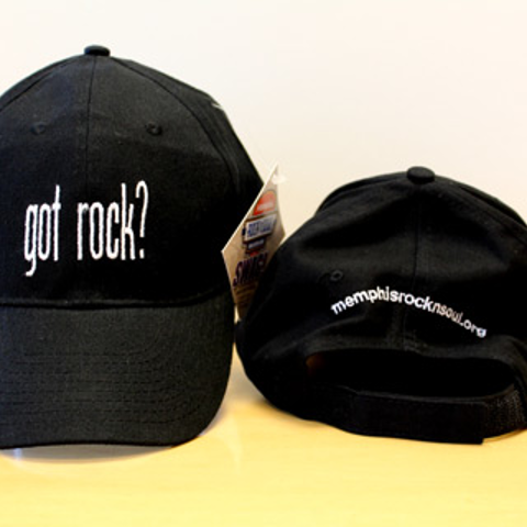 """Got Rock?"" Black Cap"
