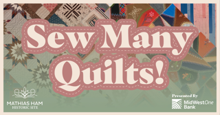 Exhibit Title Image: Sew Many Quilts!