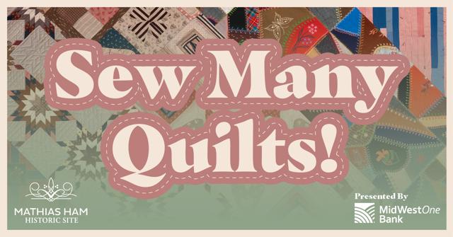Sew Many Quilt Exhibit Image