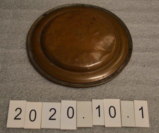 De Griselles Plate Back
