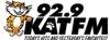 92.9 KAT FM Logo with link to website