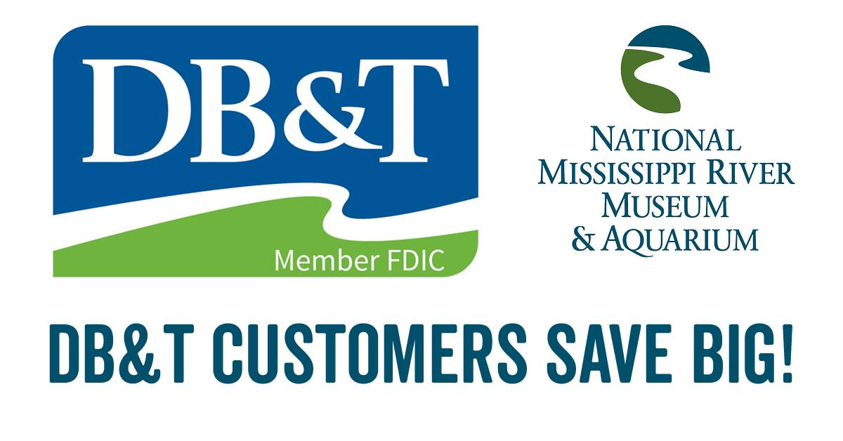 50% Off General Admission for DB&T Customers