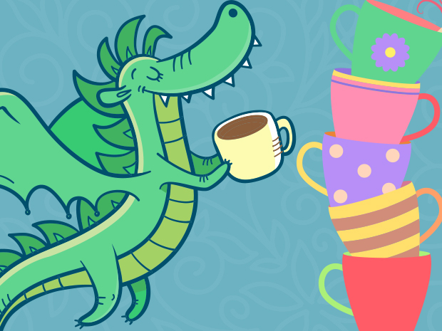 Members Only: Elevenses with Dragons