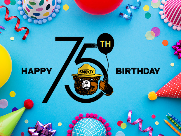 Smokey Bear's 75th Birthday Party!