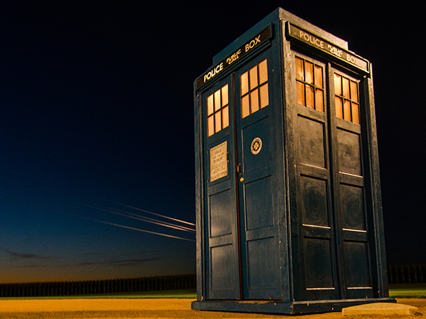 Dubuque TARDIS @ Da Vinci The Exhibition